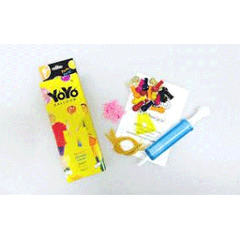 YoYo Balloons Party Pack - From Japan! Balloons Balloon Town - Party Boulevard Singapore Balloons Helium