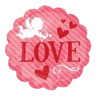 "Cupid Love Foil Balloons (13"")"