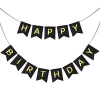 Happy Birthday Party Banner Party Deco Party Boulevard - Party Boulevard Singapore Balloons Helium