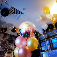 Clear Bubble Balloons with Personalized Printing Balloons Balloon Town - Party Boulevard Singapore Balloons Helium