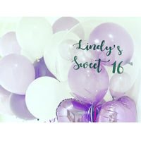 Clear Bubble Balloons with Personalized Printing
