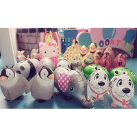 Helium Filled Animal Walker Bundled Balloons Balloon Town - Party Boulevard Singapore Balloons Helium