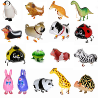 Helium Filled Animal Walker - Kids Favourite for all Party! Balloons Balloon Town - Party Boulevard Singapore Balloons Helium