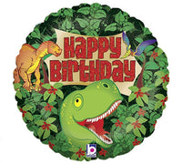 "Dinosaur Boy Happy Birthday Foil Balloons (18"")"