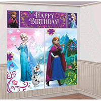 Disney Frozen Party Wall Decorating Kit (5 Piece) 1.5m x 1.6m Party Deco Party Boulevard - Party Boulevard Singapore Balloons Helium