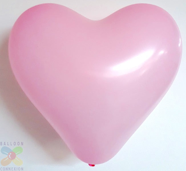 Heart Shape Latex Balloons (set of 10) Balloons Balloon Town - Party Boulevard Singapore Balloons Helium