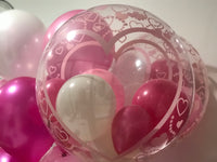 Pattern Design Bubble Balloons with Personalized Printing
