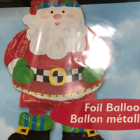 "Christmas Santa Airwalker Balloon (39"")"