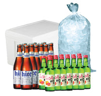 Korean Party Booze Package (10-15 pax) Booze The Alcohol Gentlemen - Party Boulevard Singapore Balloons Helium