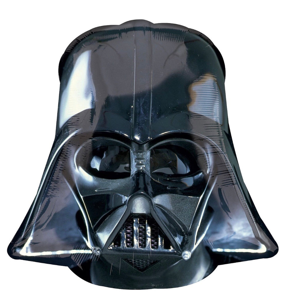 "Star Wars Darth Vader Helmet Shape Helium Fill-able Balloons (25"") Balloons Balloon Town - Party Boulevard Singapore Balloons Helium"