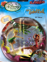 "Disney Fairies Thinker Bell Bubble Foil Balloons (22"") - Save 40%"
