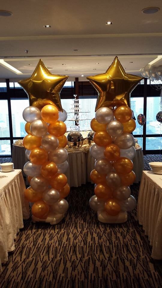 Balloons Party Standee Party Deco Balloon Town - Party Boulevard Singapore Balloons Helium