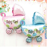 Baby Shower Boy or Girl Helium Fill-able Balloons Set Balloons Balloon Town - Party Boulevard Singapore Balloons Helium