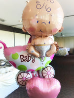 Baby Shower Balloons Deco Package Balloons Balloon Town - Party Boulevard Singapore Balloons Helium