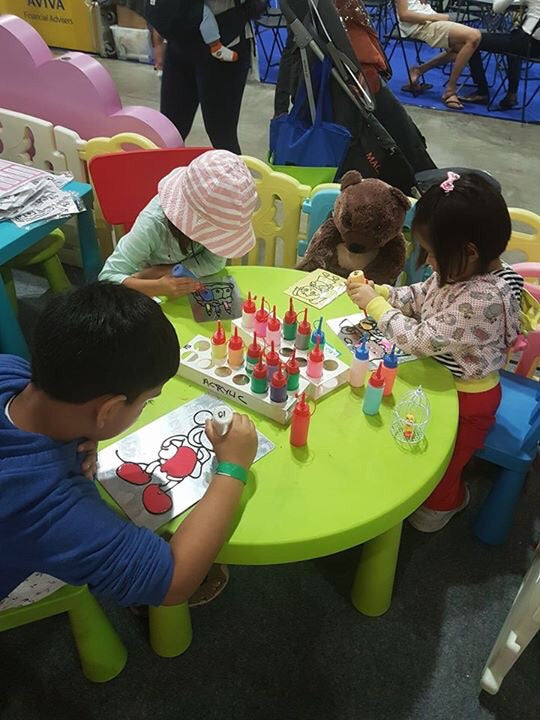 Sand Art Kids Station for Kids Play n Learn Rent-N-Play Balloon Town - Party Boulevard Singapore Balloons Helium