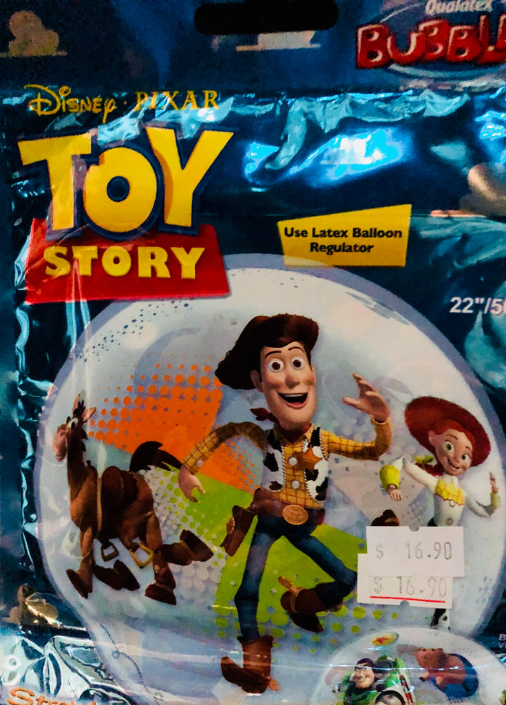 "Disney Toy Story Bubble Foil Balloons (22"") - Save 40% Balloons Balloon Town - Party Boulevard Singapore Balloons Helium"