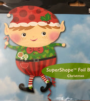 "Christmas Boy Supershape Foil Balloon (31"")"