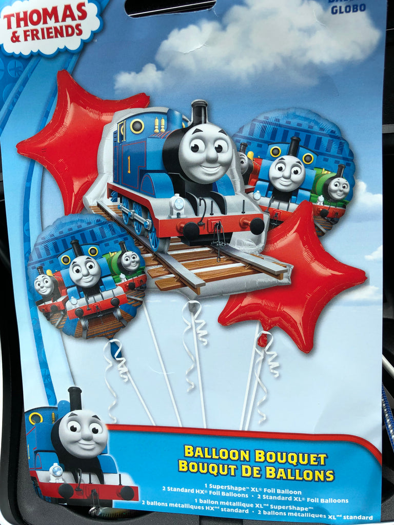 Thomas and Friends Bouquet Foil Balloons - Save 40% Balloons Balloon Town - Party Boulevard Singapore Balloons Helium