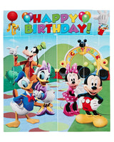 Multicolored Mickey Party Wall Decorating Kit (5 Piece)