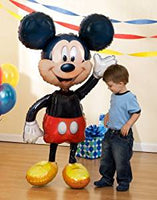 "Mickey Mouse Airwalker Jumbo Foil Mylar Birthday Balloon (52"")"