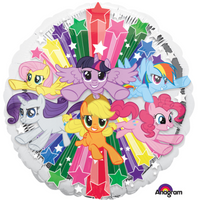 My Little Pony Gang Foil Balloons Balloons Balloon Town - Party Boulevard Singapore Balloons Helium