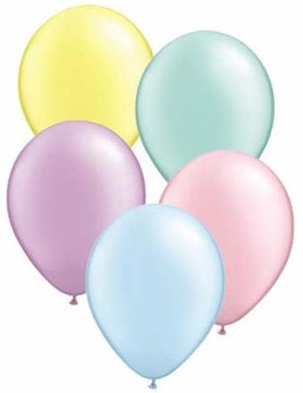 Latex Balloons (Pastel Colours) - Trendy! Balloons Balloon Town - Party Boulevard Singapore Balloons Helium