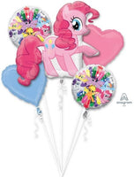 My Little Pony Pinkie Pie Birthday Bouquet Balloons (5 pieces)