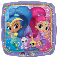 Shimmer & Shine Foil Balloons Balloons Balloon Town - Party Boulevard Singapore Balloons Helium