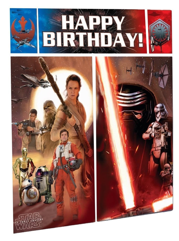 Star Wars Party Wall Decorating Kit (5 Piece) Party Deco Party Boulevard - Party Boulevard Singapore Balloons Helium
