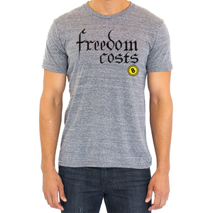 Freedom Costs Bitcoin Crew - AmericanPoet