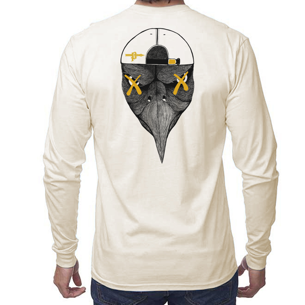 Eagle Long Sleeve Crew - AmericanPoet