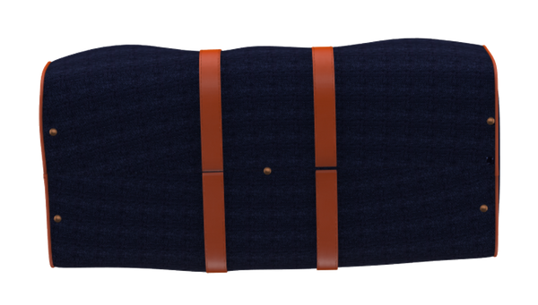 Royal Blue and Orange Weekender Duffel