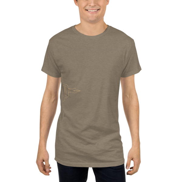Long Body Essential Tee