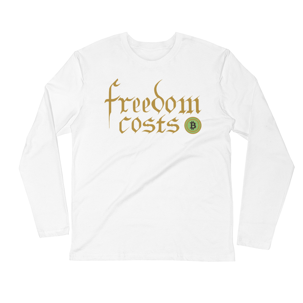 Freedom Costs Bitcoin Long Sleeve Crew