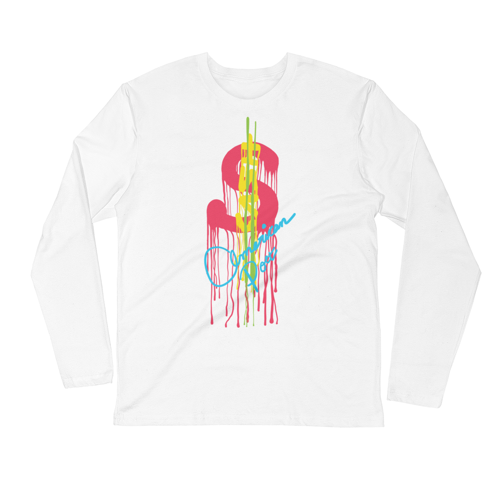 Retro Money Long Sleeve Crew