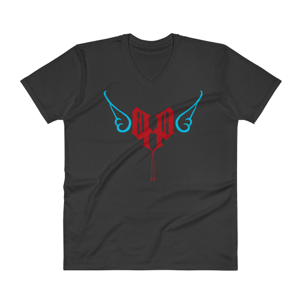 Angel Poets V-Neck T-Shirt