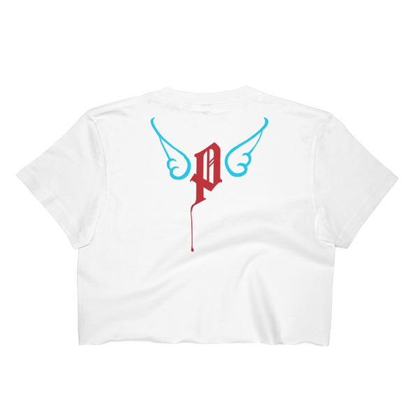 Flying Love of Money Women's Crop Top - AmericanPoet