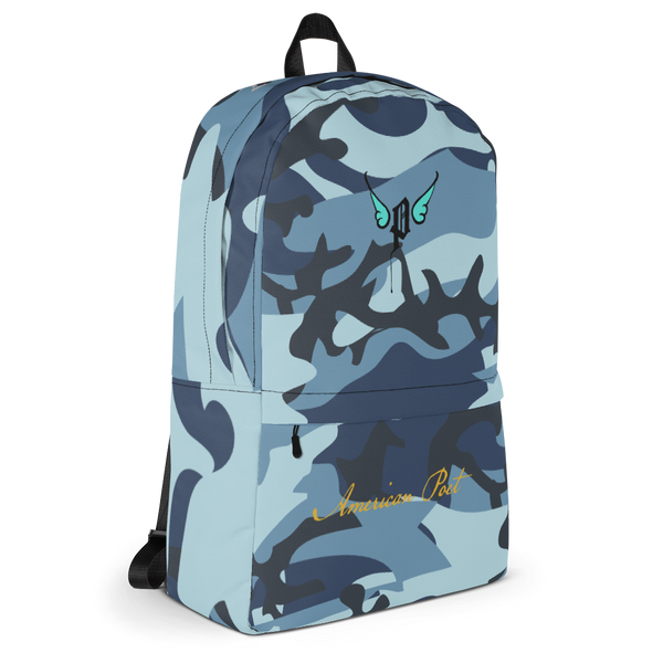 Blue Camo Backpack (2019)