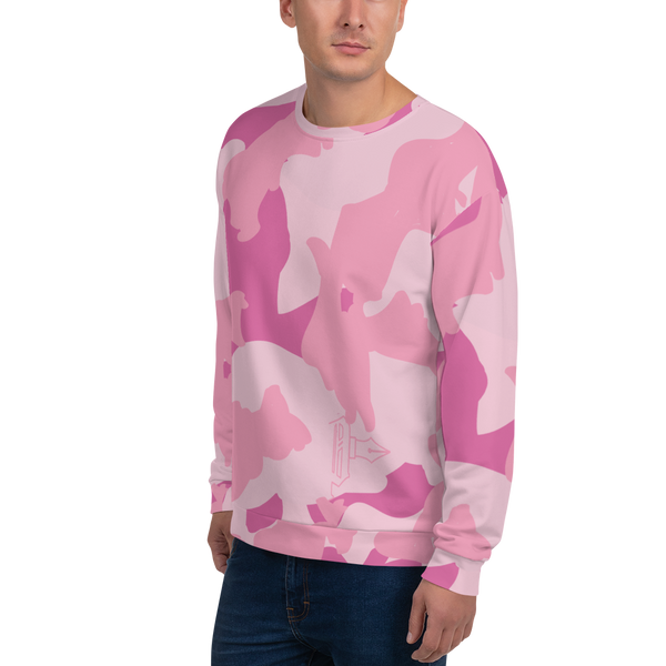 The Pink Camo Sweatshirt