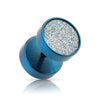 Blue Moon Dust Faux Plug