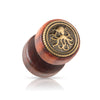 Gold Octopus Inlay Faux Wood Plugs