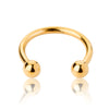 16g Gold plated Horseshoe