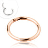 Rose Gold Segment Ring