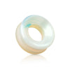 Opalite Saddle Fit Stone Tunnel Plugs.