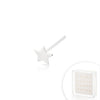 .925 Sterling Silver Star Nose Pin