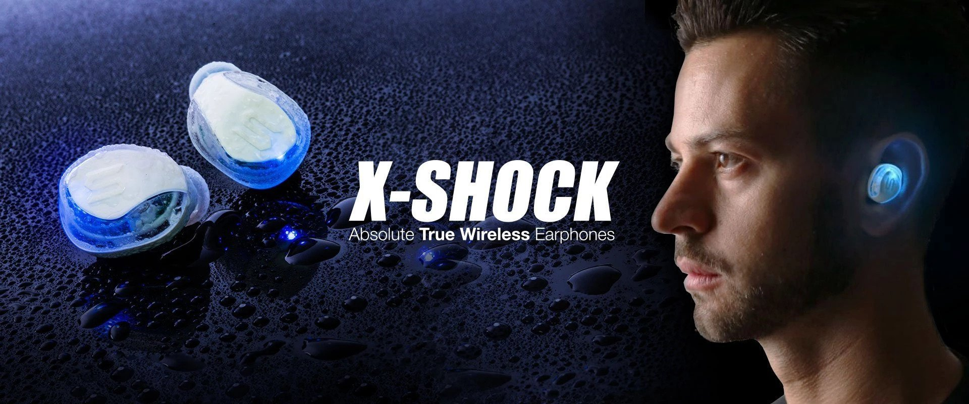 Soul Electronics X-SHOCK True Wireless Sports Earphones