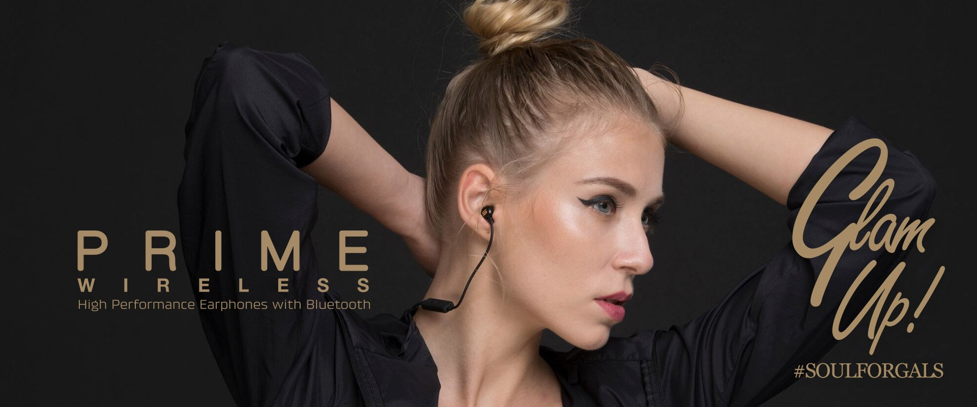 Soul PRIME WIRELESS High Performance Earphones with Bluetooth