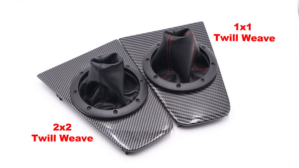 Runabout Shifter Surround Trim - Carbon Fiber Style