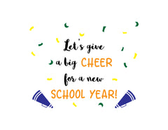 Cheer for New School Year