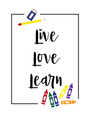 Live Love Learn Image